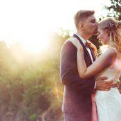 Linda & Martin's entspannte Open-Air-Hochzeit