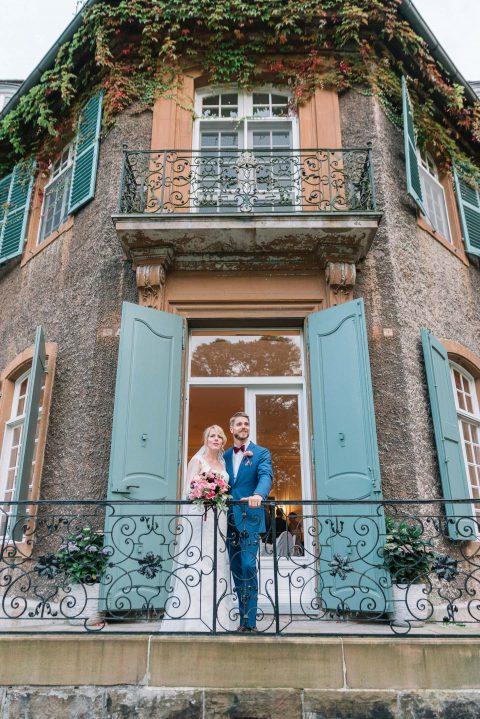 Vanessa & Thomas' frühherbstliche Schlosshochzeit