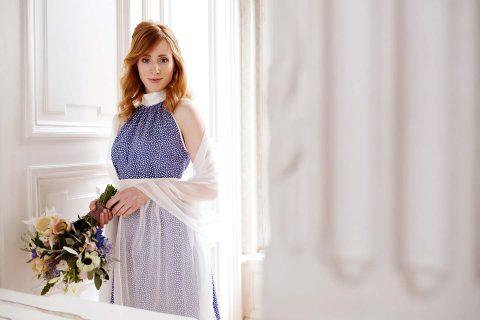 Labude Élegance-Kollektion: farbige Romantik für das Standesamt