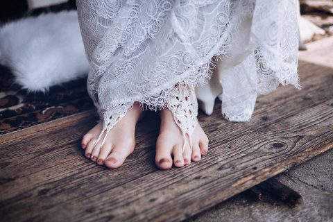 Industrial-Chic trifft auf Boho-Hochzeitsromantik
