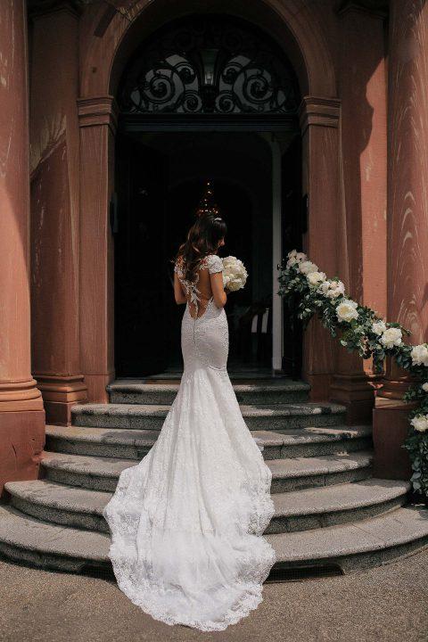 Masoumeh & Dennis' sinnliche Villen-Hochzeit
