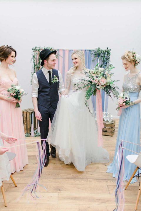 Hochzeitsinspiration: Scandinavian Midsummer