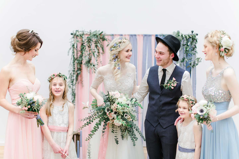 Hochzeitsinspiration: Scandinavian Midsummer Hochzeitstrends