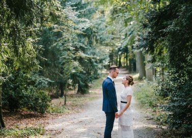 Maren & Benedikt: Urbane Romance-Hochzeit