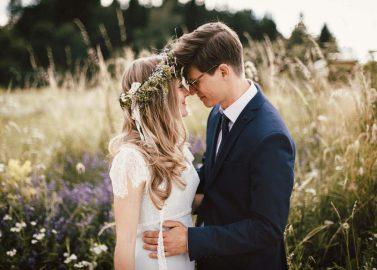 Katrin & Simon: Bohemian-Hochzeit in der Sommersonne