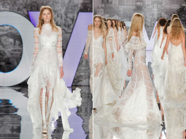 Fein Hippie Inspirierten Kleider Hochzeit Bilder - Brautkleider ...