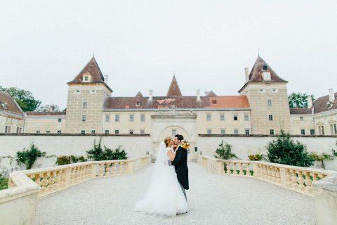 Katharina & Paul's sommerliche Schlosshochzeit