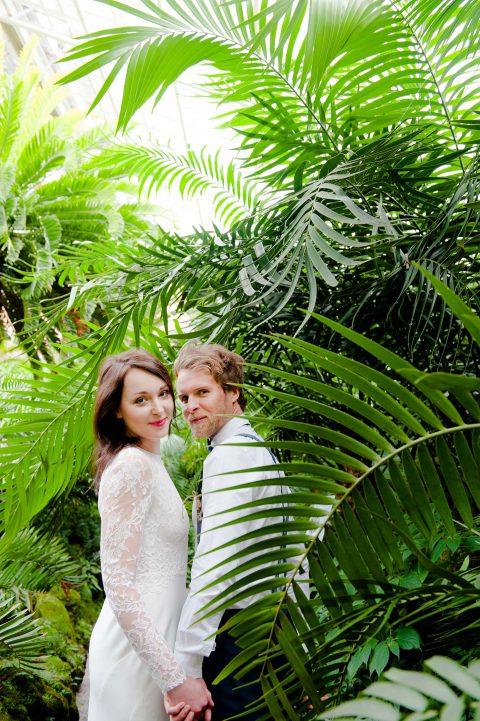 Botanical Wedding in Mint
