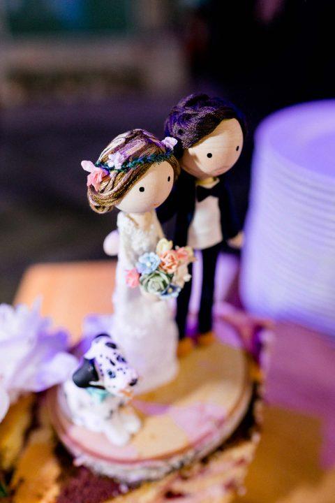 Dominique & Ricardo: multikulturelle Hochzeit in Pastell