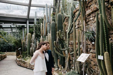 Nicole & Logan: Botanical Wedding