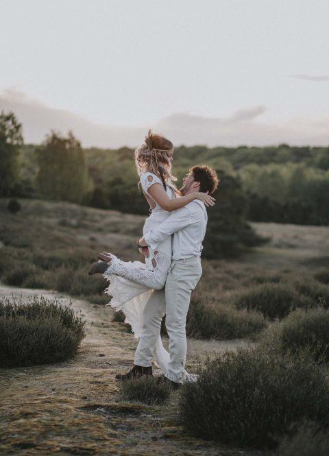Wildromantischer Boho-Chic im Tipi