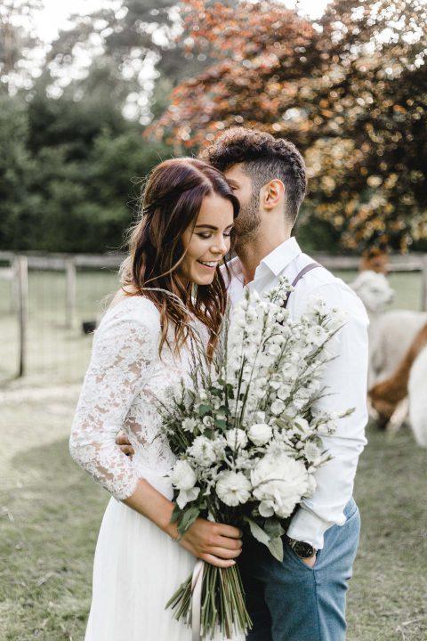 Hochzeitsinspiration: Boho-Landliebe deluxe