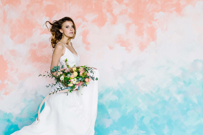 Hochzeitsinspiration: Floraler Pastellzauber