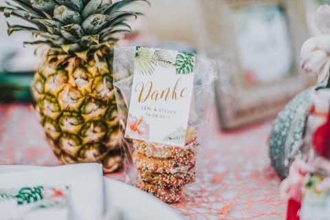 Love on the Beach! Hochzeitsinspiration mit Karibikfeeling