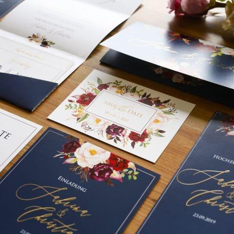 Save the Date Karte Hochzeit