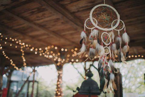 Green Hippie Wedding