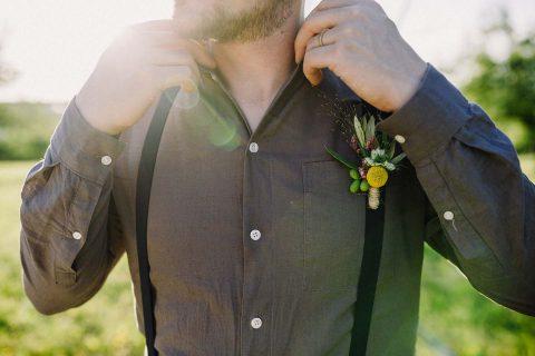 Regenbogen & Gold: farbenfrohe Hippie-Inspiration