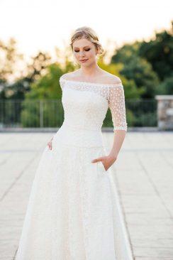 Entspannt & authentisch – Brautkleider von küssdiebraut 2018