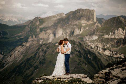 Lara & Timo: Freie Trauung in den Schweizer Bergen