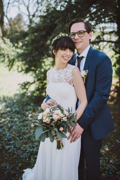 Stephanie & Simons romantische Landhochzeit