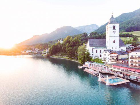 Zweisamkeit am Wolfgangsee in Österreich