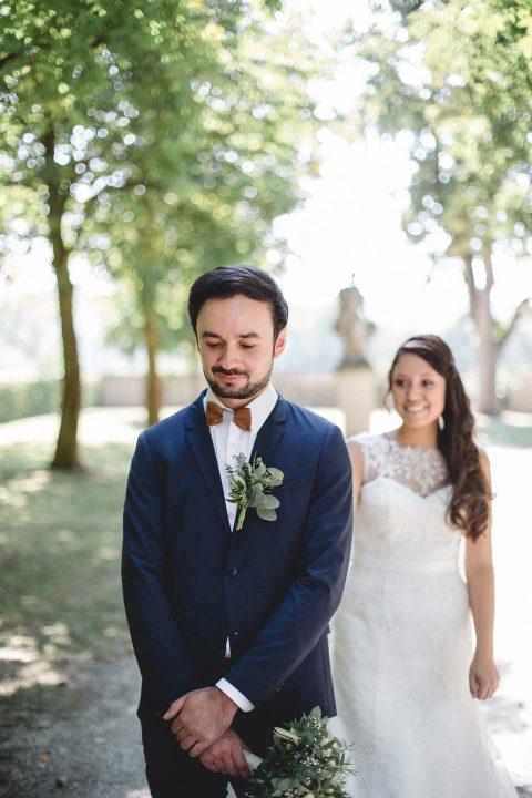 Julia & Sascha: Botanische Hochzeit im Schlossgarten