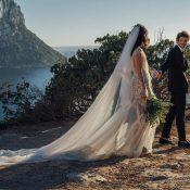 Romantische Inselhochzeit mit Meerblick