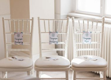 Martina & Thomas: Vintage-Hochzeit in Pastell