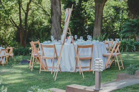 Raffaela & Horst: Elegante Gartenhochzeit in Barcelona