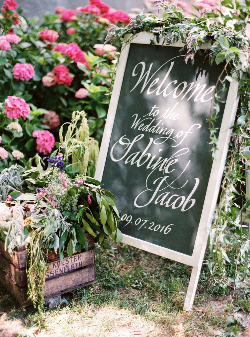The flavor of life: Sabine & Jacobs Gartenhochzeit