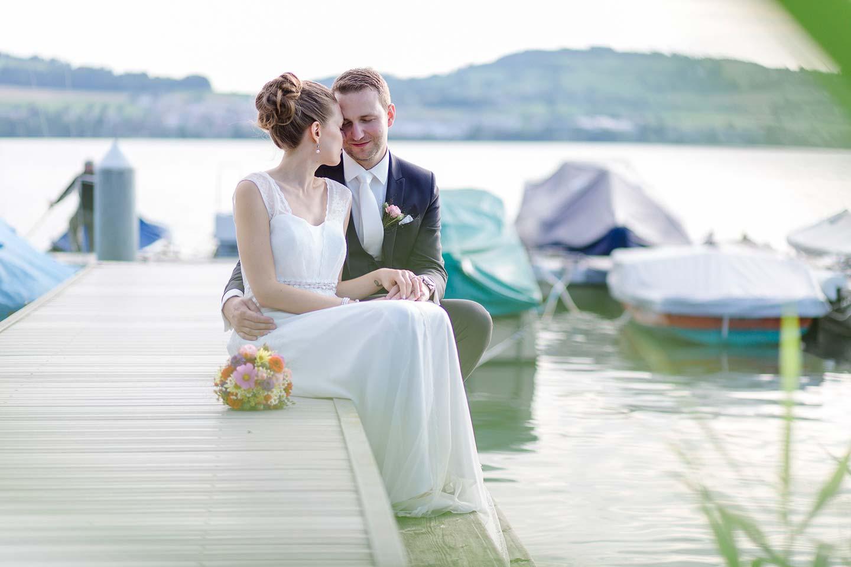 Monique & Martin: Sommerhochzeit am See