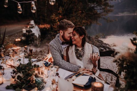 """Into the Wild"" – eine Elopement-Inspiration"