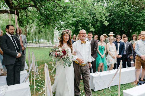 Chionia & Korbinian's Schwedisch Chic-Hochzeit