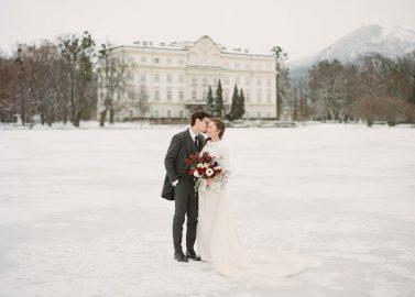Magdalena & Sebastian: Winterliche Schlosshochzeit