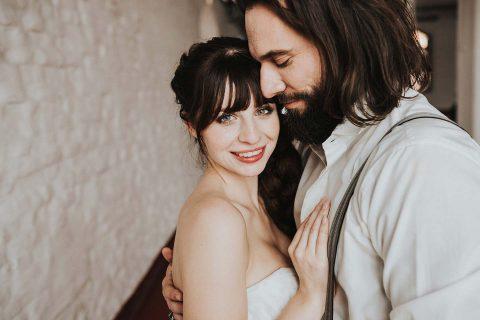 Modern & zeitlos: urbanes Hochzeitsmärchen