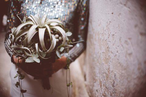 Magische Holographic-Hochzeit im Winter