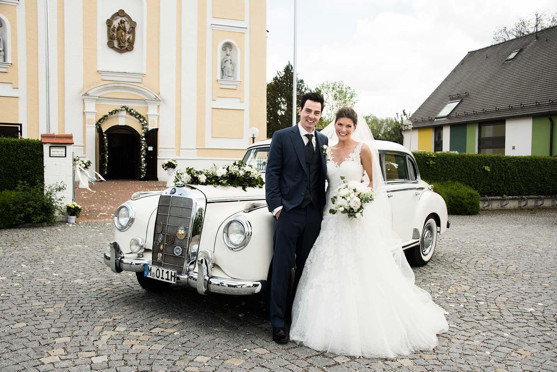 Raffaela & Stefan's glamouröse Schlosshochzeit
