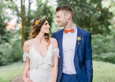 Aylin & Jannis: Hippie-Hochzeit am Stadtstrand