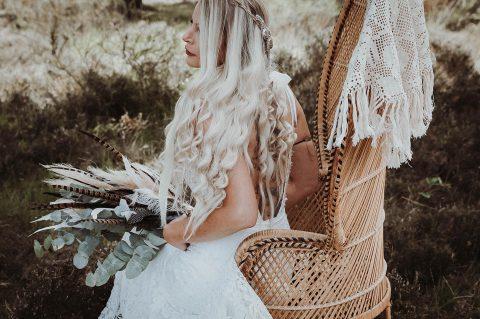 Nicole & Michael: Boho-Hochzeit unter freiem Himmel