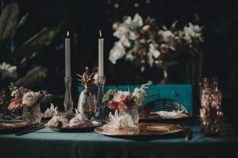 Brautinspiration im Botanischen Garten