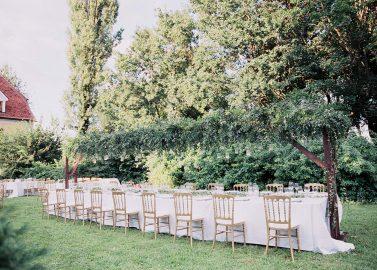 Eva & Michael: Sommerhochzeit im Schlossgarten