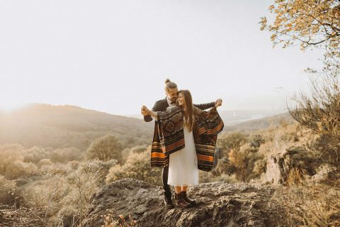 Lisa & Matthias: Hippie deluxe in den Bergen