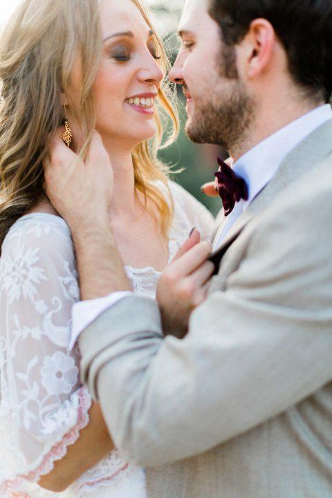 Spätsommerliche Boho-Hochzeitsinspiration