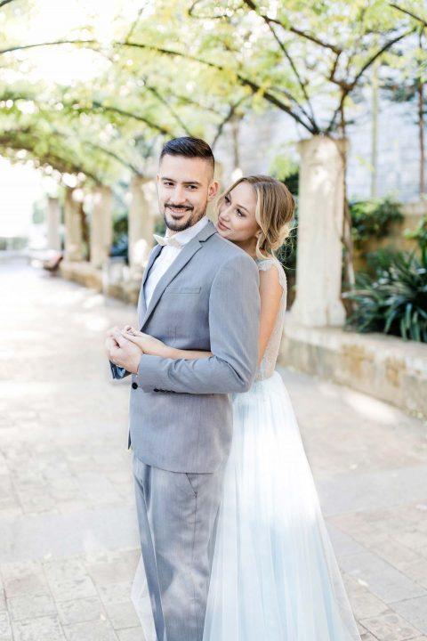 Blaue Hochzeits-Finesse auf Mallorca