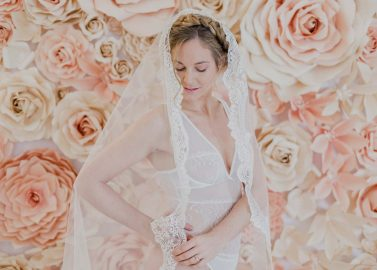 Bridal Boudoir mit alten Traditionen
