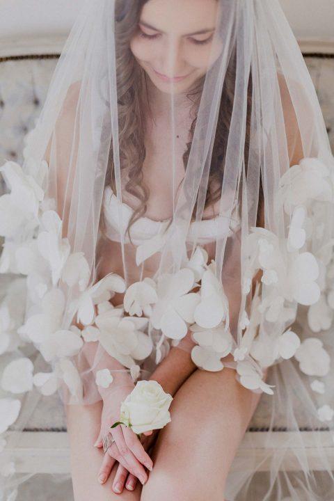 Bridal Boudoir mit alten Traditionen