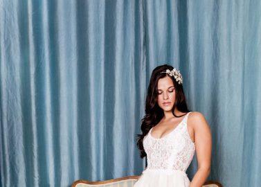 Weisse Brautromantik
