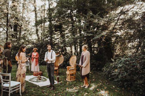 Wildromantische Gipsy Hochzeit deluxe