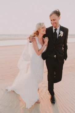 Chantal  & Manuel: Strandhochzeit in Portugal