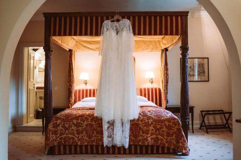 Anna-Ricarda & Manuel: Vintage-Hochzeit im Schloss Auel